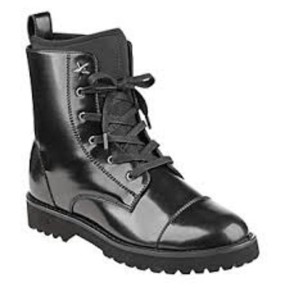 a8a9ac59344 Tommy Hilfiger Palmyr Combat Women Boot NWT